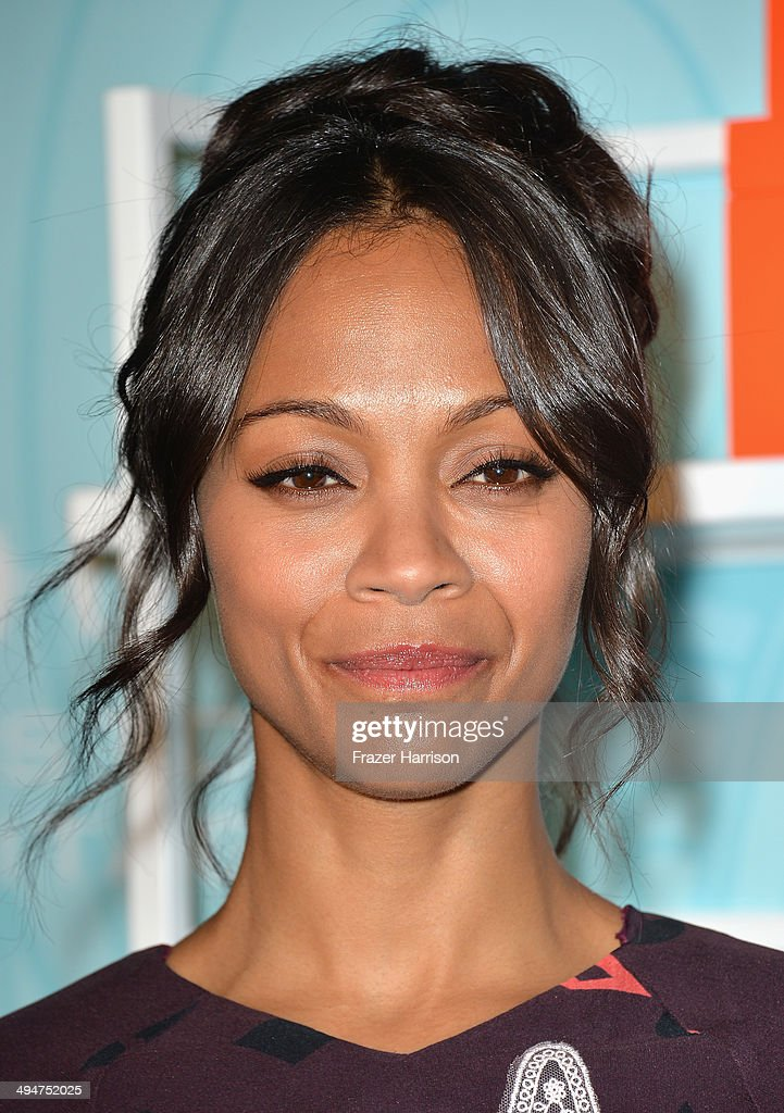 Actress <a gi-track='captionPersonalityLinkClicked' href=/galleries/search?phrase=Zoe+Saldana&family=editorial&specificpeople=542691 ng-click='$event.stopPropagation()'>Zoe Saldana</a> arrives at the Step Up 11th Annual Inspiration Awards at The Beverly Hilton Hotel on May 30, 2014 in Beverly Hills, California.