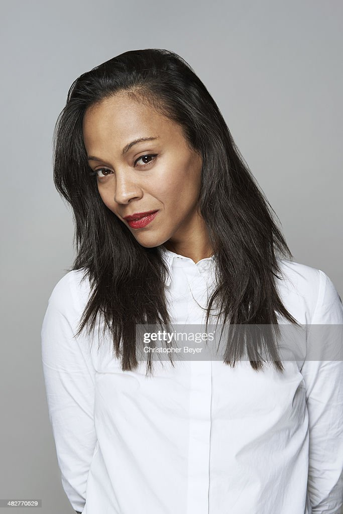 Actress Zoe Saldana is photographed for Entertainment Weekly Magazine on January 25, 2014 in Park City, Utah.