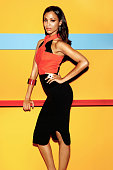 Actress Zoe Saldana is photographed for Latina Magazine on February 22 2013 in Los Angeles California PUBLISHED IMAGE ON DOMESTIC EMBARGO UNTIL...