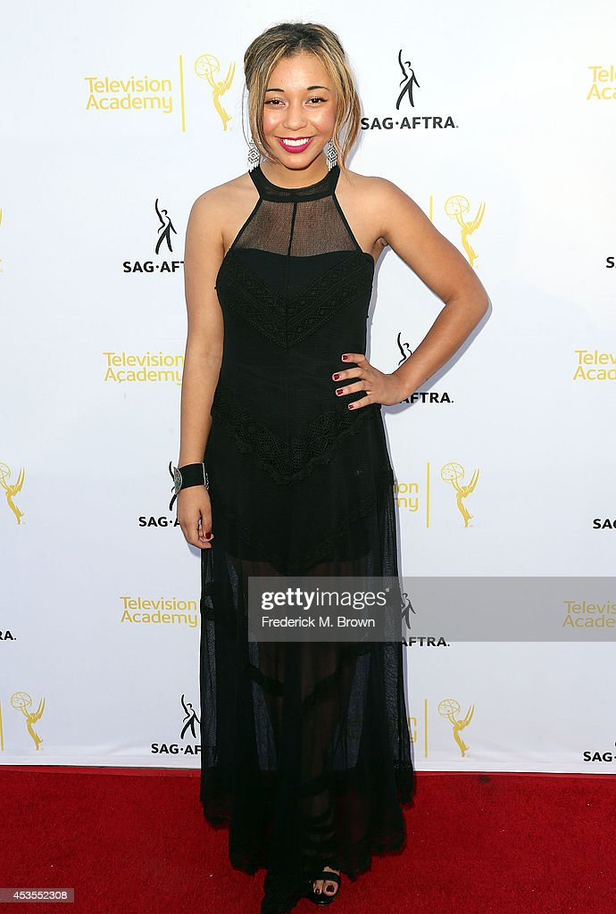 Actress Zoe Soul attends the Television Academy and SAG-AFTRA Presents Dynamic & Diverse: A 66th Emmy Awards Celebration of Diversity at the Leonard H. Goldenson Theatre on August 12, 2014 in North Hollywood, California.