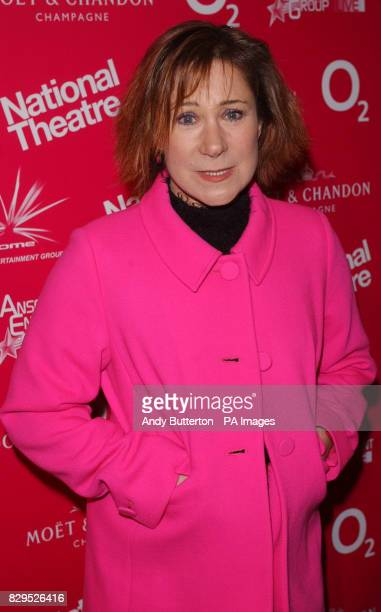 Actress Zoe Wanamaker arrives