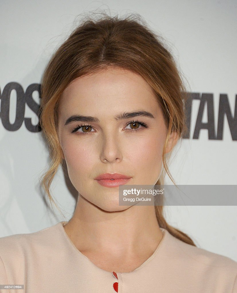 Actress Zoey Deutch arrives at Cosmopolitan Magazine's 50th Birthday Celebration at Ysabel on October 12 2015 in West Hollywood California
