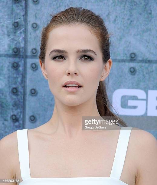Actress Zoey Deutch arrives at Spike TV's 'Guys Choice 2015' at Sony Pictures Studios on June 6 2015 in Culver City California