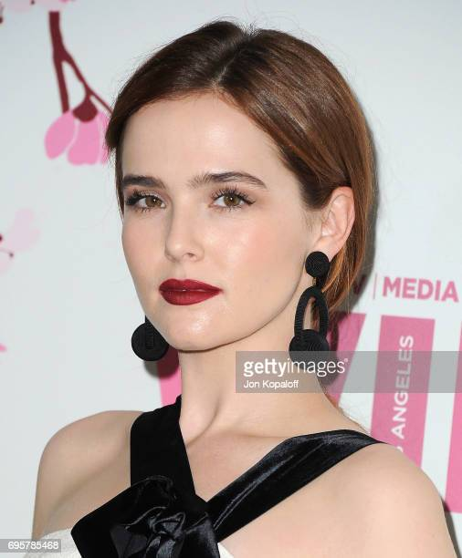 Actress Zoey Deutch arrives at the Women In Film 2017 Crystal Lucy Awards Presented By Max Mara And BMW at The Beverly Hilton Hotel on June 13 2017...