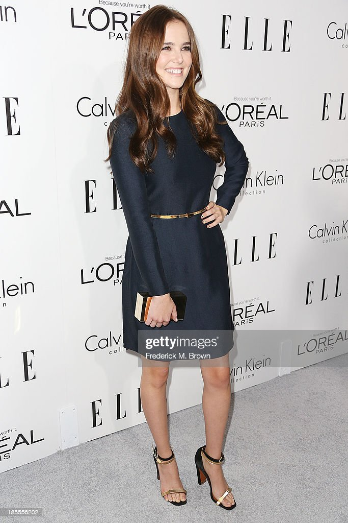 Actress Zoey Deutch attends ELLE's 20th Annual Women in Hollywood Celebration at the Four Seasons Hotel Los Angeles at Beverly Hills on October 21, 2013 in Beverly Hills, California.