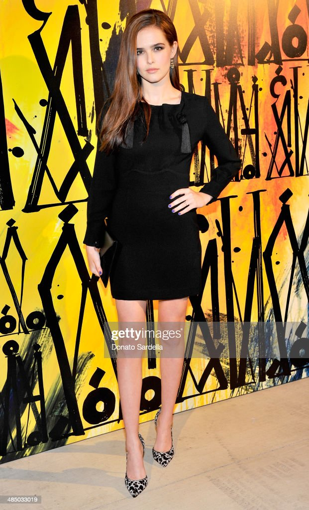 Actress <a gi-track='captionPersonalityLinkClicked' href=/galleries/search?phrase=Zoey+Deutch&family=editorial&specificpeople=4951672 ng-click='$event.stopPropagation()'>Zoey Deutch</a> attends Launch Of CHOO.08 hosted by Jimmy Choo's Sandra Choi on April 15, 2014 in Beverly Hills, California.