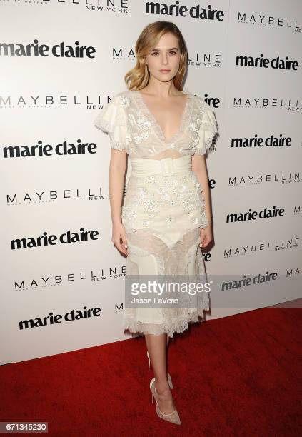 Actress Zoey Deutch attends Marie Claire's Fresh Faces event at Doheny Room on April 21 2017 in West Hollywood California