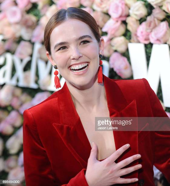 Actress Zoey Deutch attends Max Mara and Vanity Fair's celebration of Women In Film's Face of the Future Award recipient Zoey Deutch at Chateau...