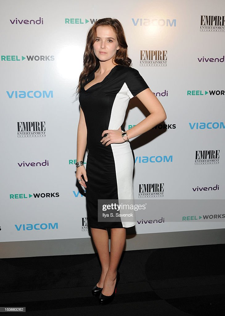 Actress Zoey Deutch attends Reel Works 2012 Gala Benefit at The Edison Ballroom on October 10, 2012 in New York City.
