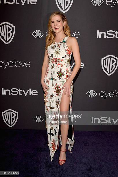 Actress Zoey Deutch attends the 18th Annual PostGolden Globes Party hosted by Warner Bros Pictures and InStyle at The Beverly Hilton Hotel on January...