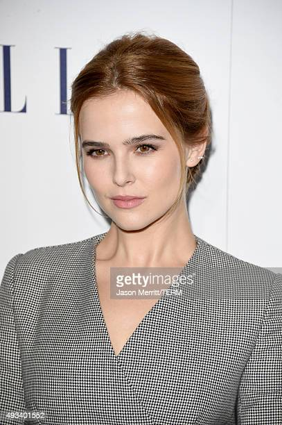 Actress Zoey Deutch attends the 22nd Annual ELLE Women in Hollywood Awards at Four Seasons Hotel Los Angeles at Beverly Hills on October 19 2015 in...