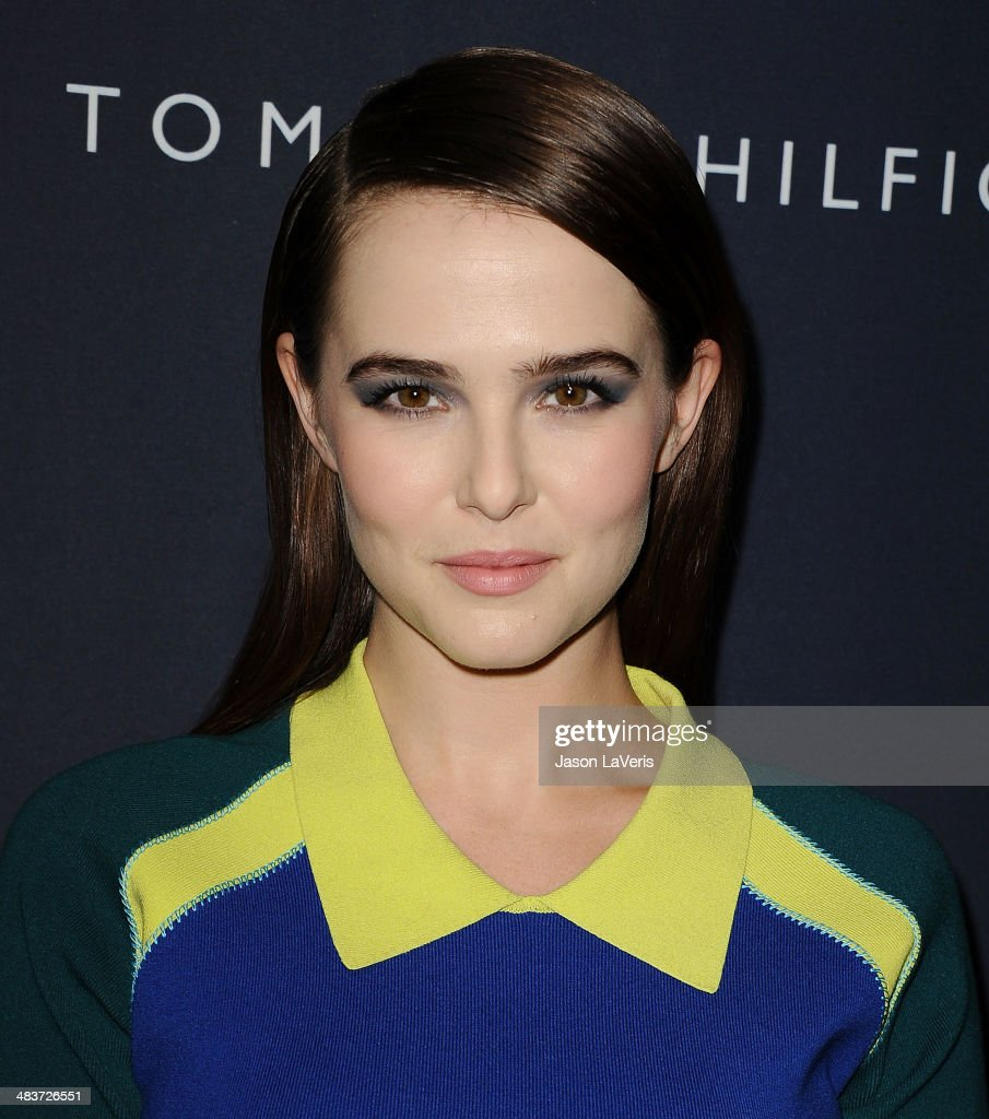 Actress Zoey Deutch attends the debut of Tommy Hilfiger's Capsule Collection at The London Hotel on April 9, 2014 in West Hollywood, California.