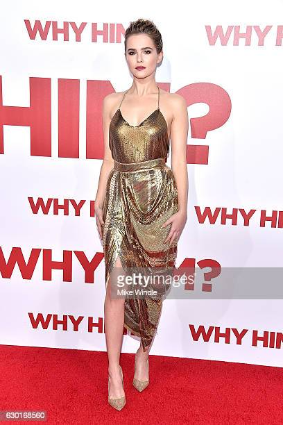 Actress Zoey Deutch attends the premiere of 20th Century Fox's 'Why Him' at Regency Bruin Theater on December 17 2016 in Westwood California