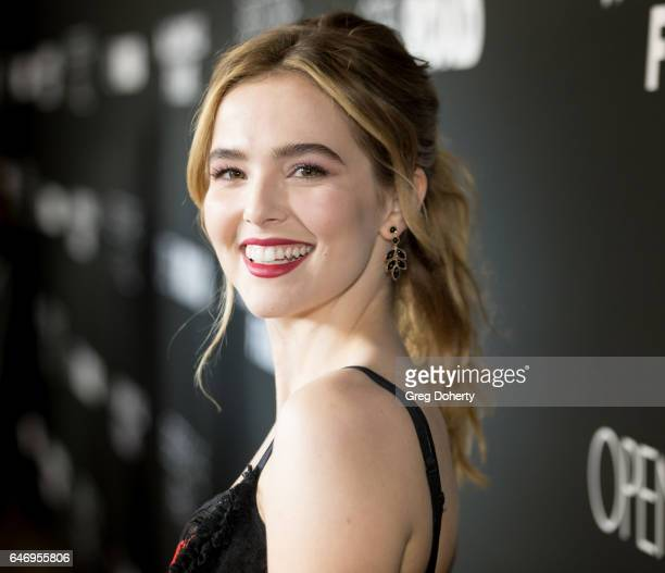 Actress Zoey Deutch attends the premiere of Open Road Films' 'Before I Fall' at the Directors Guild Of America on March 1 2017 in Los Angeles...