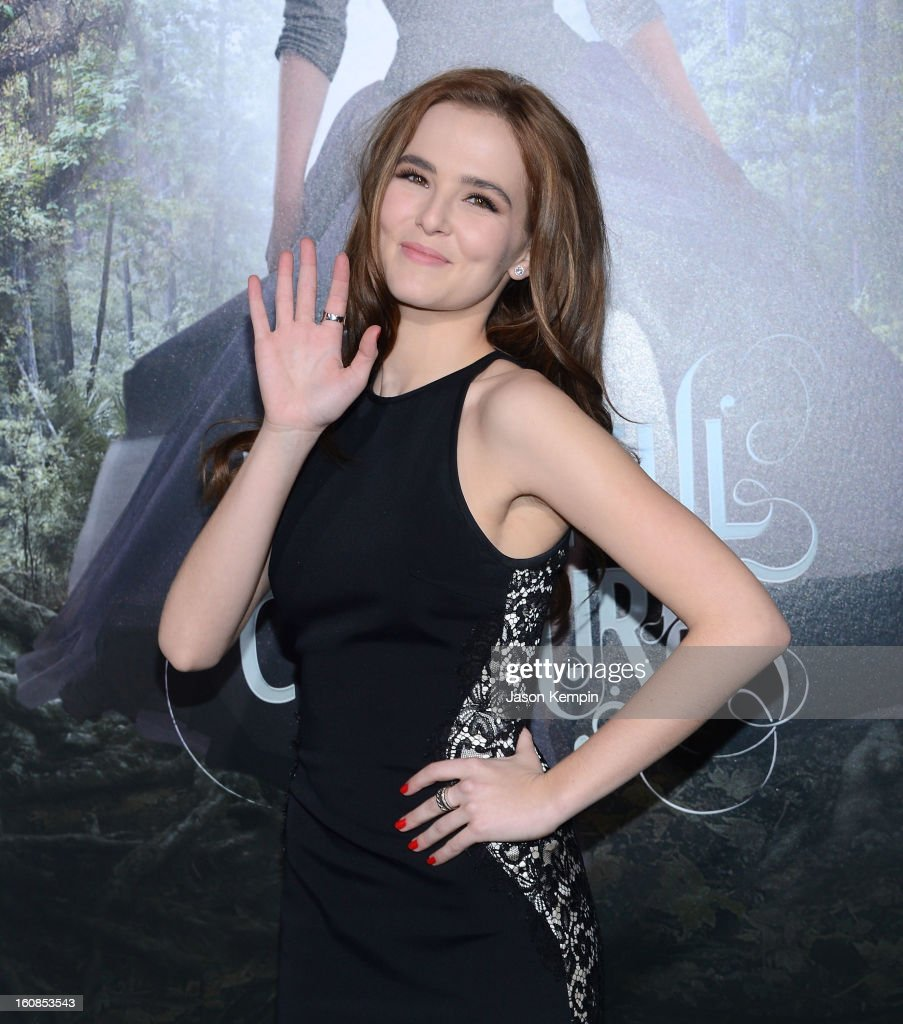 Actress Zoey Deutch attends the premiere of Warner Bros. Pictures' 'Beautiful Creatures' at TCL Chinese Theatre on February 6, 2013 in Hollywood, California.