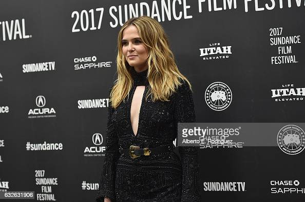 Actress Zoey Deutch attends the 'Rebel In The Rye' Premiere on day 6 of the 2017 Sundance Film Festival at Eccles Center Theatre on January 24 2017...