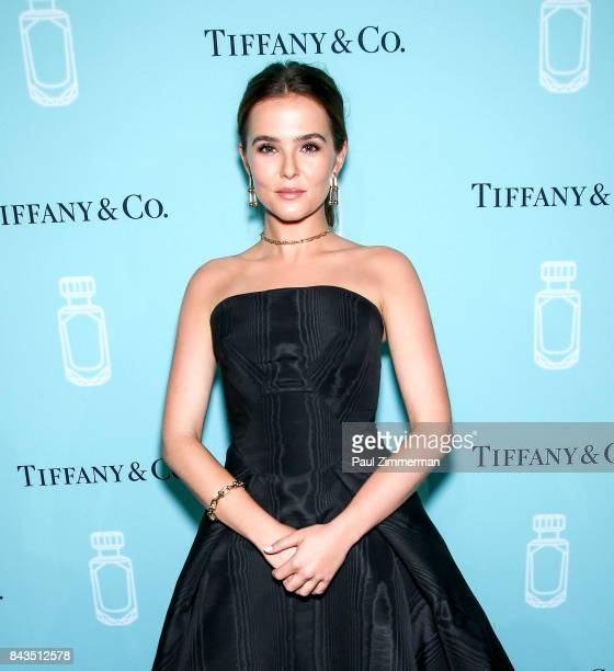 Actress Zoey Deutch attends the Tiffany Co Fragrance Launch at Highline Stages on September 6 2017 in New York City