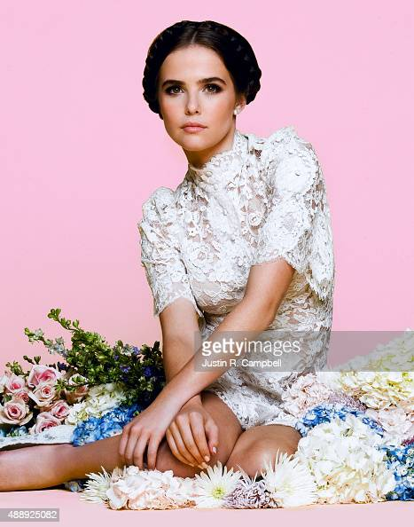 Actress Zoey Deutch is photographed for Just Jared on December 19 2013 in Los Angeles California