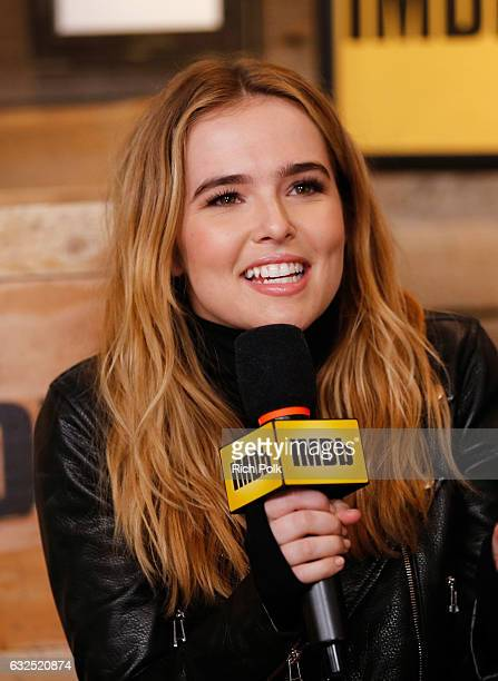 Actress Zoey Deutch of 'Rebel in the Rye' attends The IMDb Studio featuring the Filmmaker Discovery Lounge presented by Amazon Video Direct Day Four...