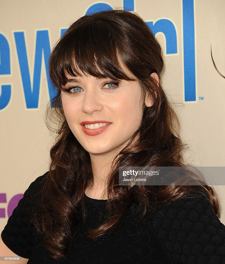 Actress Zooey Deschanel attends a screening and Q&A of 'New Girl' at Leonard H. Goldenson Theatre on April 30, 2013 in North Hollywood, California.