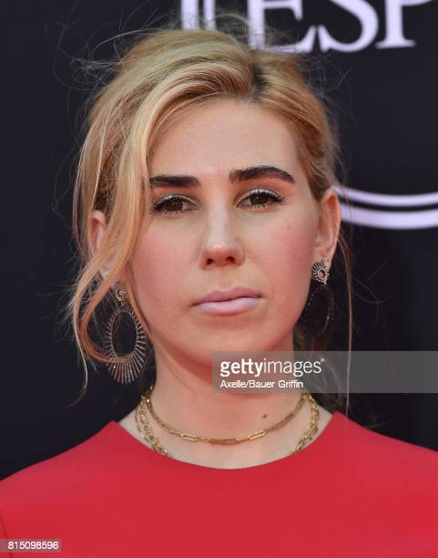 Actress Zosia Mamet arrives at the 2017 ESPYS at Microsoft Theater on July 12 2017 in Los Angeles California