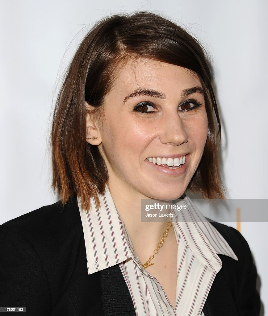 Actress <a gi-track='captionPersonalityLinkClicked' href=/galleries/search?phrase=Zosia+Mamet&family=editorial&specificpeople=7439328 ng-click='$event.stopPropagation()'>Zosia Mamet</a> attends an evening with 'Girls' at Leonard H. Goldenson Theatre on March 13, 2014 in North Hollywood, California.