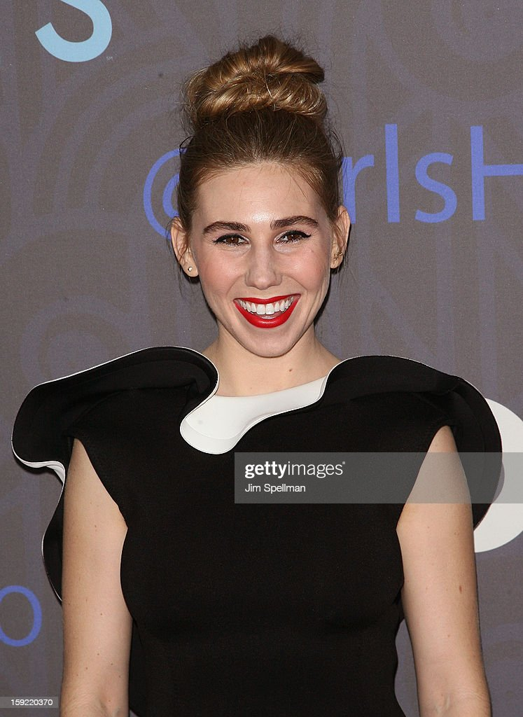 Actress Zosia Mamet attends Cinema Society presents the world premiere of 'Girls' season 2 at NYU Skirball Center on January 9, 2013 in New York City.