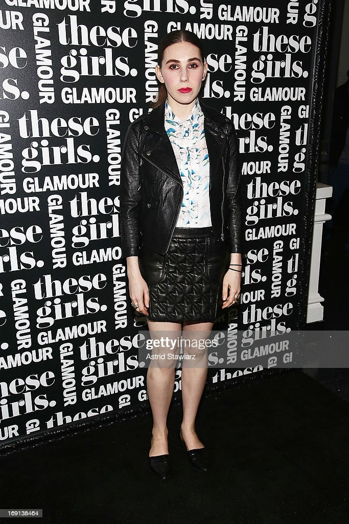 Actress Zosia Mamet attends Glamour's presentation of 'These Girls' at Joe's Pub on May 20, 2013 in New York City.
