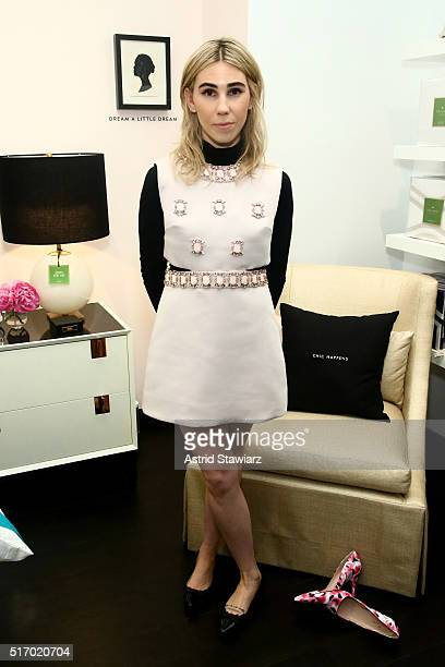 Actress Zosia Mamet attends Kate Spade New York 'Housewarming' in celebration of the brand's home popup shop at Kate Spade New York Home PopUp Shop...