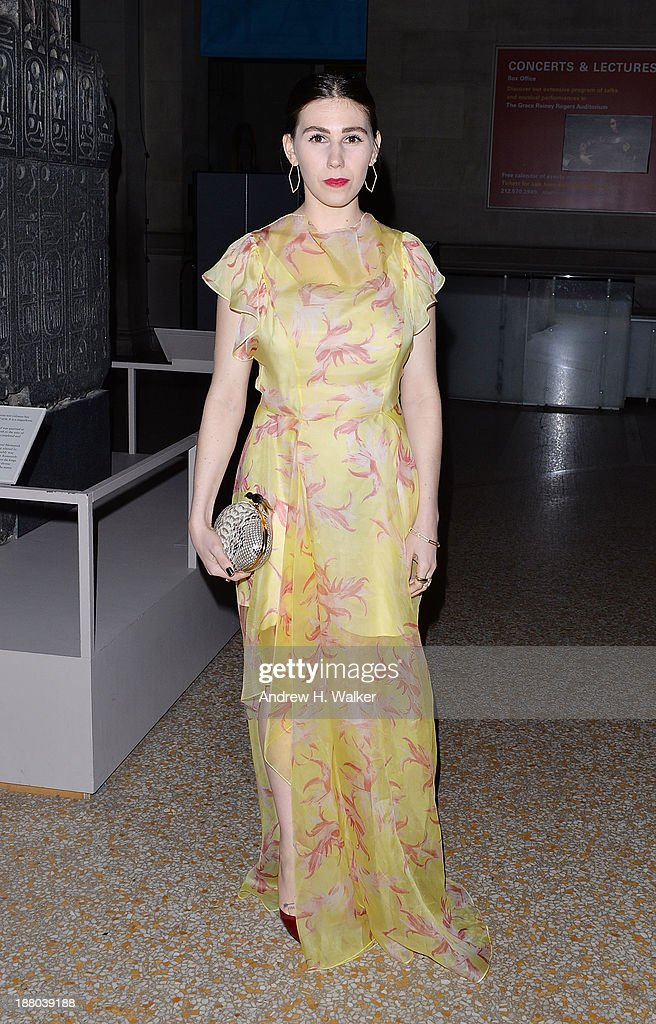 Actress Zosia Mamet attends the 10th annual Apollo Circle benefit at Metropolitan Museum of Art on November 14, 2013 in New York City.