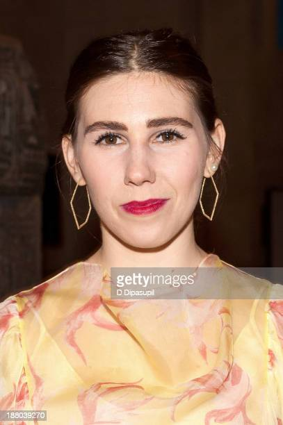Actress Zosia Mamet attends the 10th annual Apollo Circle benefit at the Metropolitan Museum of Art on November 14 2013 in New York City