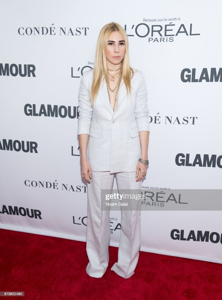 Actress Zosia Mamet attends the 2017 Glamour Women of The Year Awards at Kings Theatre on November 13, 2017 in New York City.