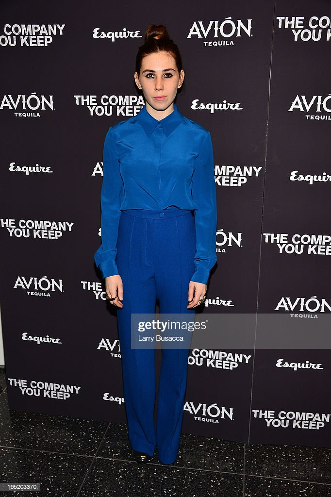 Actress Zosia Mamet attends 'The Company You Keep' New York Premiere at The Museum of Modern Art on April 1 2013 in New York City