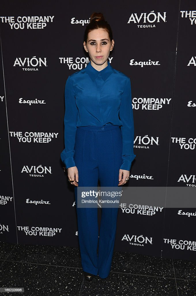 Actress Zosia Mamet attends 'The Company You Keep' New York Premiere at MOMA on April 1, 2013 in New York City.