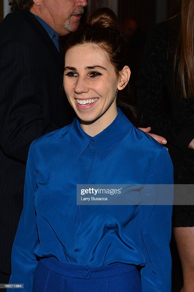 Actress Zosia Mamet attends 'The Company You Keep' New York Premiere After Party at Harlow on April 1, 2013 in New York City.