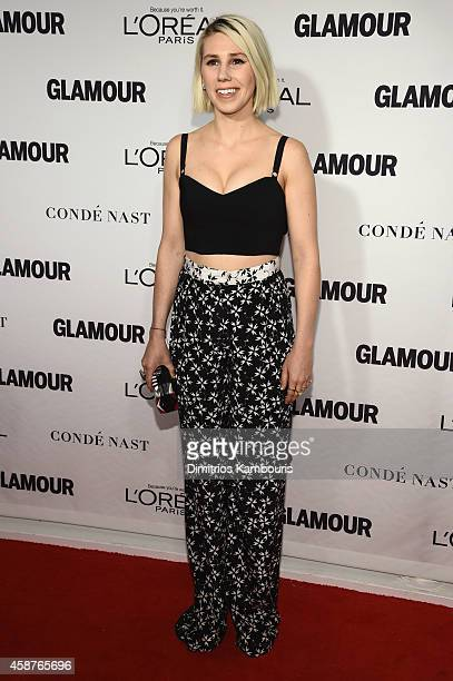 Actress Zosia Mamet attends the Glamour 2014 Women Of The Year Awards at Carnegie Hall on November 10 2014 in New York City