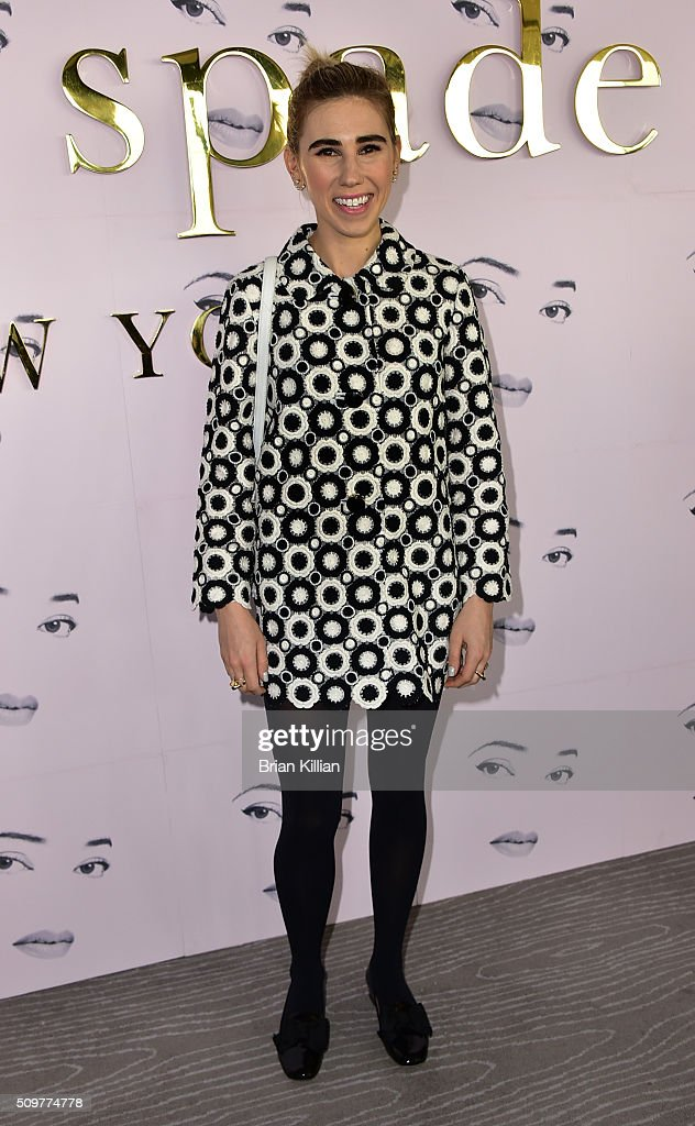 Actress <a gi-track='captionPersonalityLinkClicked' href=/galleries/search?phrase=Zosia+Mamet&family=editorial&specificpeople=7439328 ng-click='$event.stopPropagation()'>Zosia Mamet</a> attends the Kate Spade New York Fall 2016 Presentation during New York Fashion Week at The Rainbow Room on February 12, 2016 in New York City.