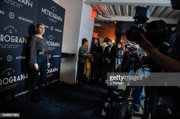 Actress Zosia Mamet attends the Metrograph 1st year anniversary party at Metrograph on March 8 2017 in New York City