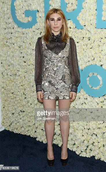 Actress Zosia Mamet attends the the New York premiere of the sixth and final season of 'Girls' at Alice Tully Hall Lincoln Center on February 2 2017...