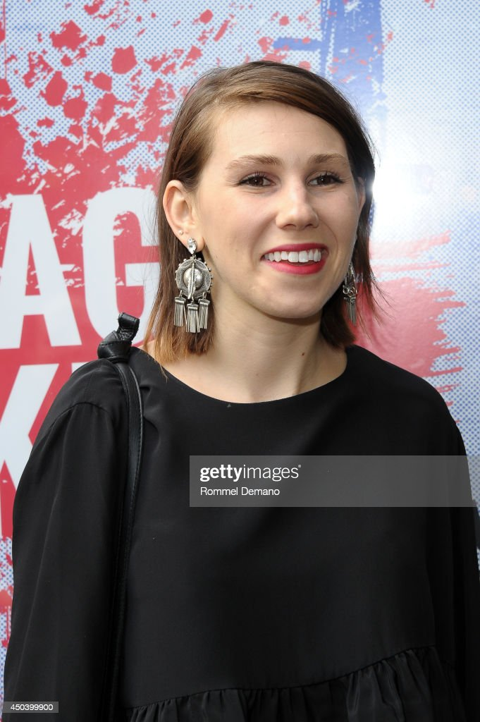 Actress <a gi-track='captionPersonalityLinkClicked' href=/galleries/search?phrase=Zosia+Mamet&family=editorial&specificpeople=7439328 ng-click='$event.stopPropagation()'>Zosia Mamet</a> attends the 'The Village Bike' Opening Night Arrivals at Lucille Lortel Theatre on June 10, 2014 in New York City.