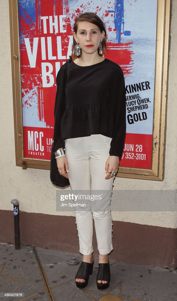 Actress Zosia Mamet attends the 'The Village Bike' Opening Night at Lucille Lortel Theatre on June 10 2014 in New York City