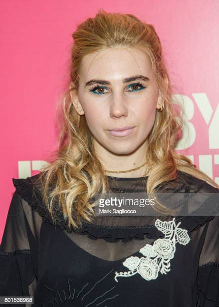 Actress Zosia Mamet attends TriStar Pictures The Cinema Society and Avion's screening of 'Baby Driver' at The Metrograph on June 26 2017 in New York...