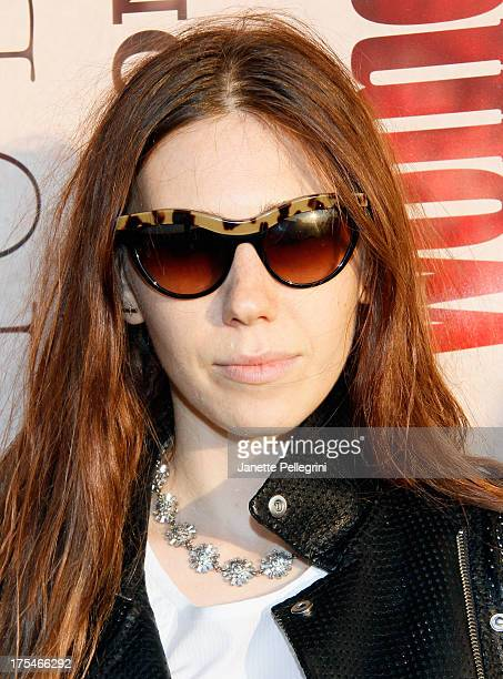 Actress Zosia Mamet attends Women's Health Hamptons 'Party Under the Stars' for RUN10 FEED10 at Bridgehampton Tennis and Surf Club on August 3 2013...