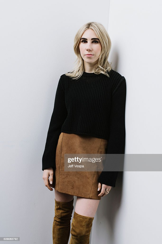 Actress <a gi-track='captionPersonalityLinkClicked' href=/galleries/search?phrase=Zosia+Mamet&family=editorial&specificpeople=7439328 ng-click='$event.stopPropagation()'>Zosia Mamet</a> of 'Wiener-Dog' poses for a portrait at the 2016 Sundance Film Festival on January 22, 2016 in Park City, Utah.