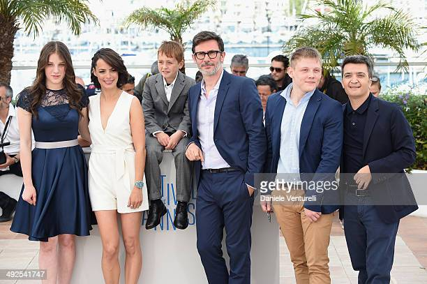Actress Zukhra Duishvili actress Berenice Bejo actor Abdul Khalim Mamatsuiev director/producer Michel Hazanavicius actor Maxim Emelianov and producer...