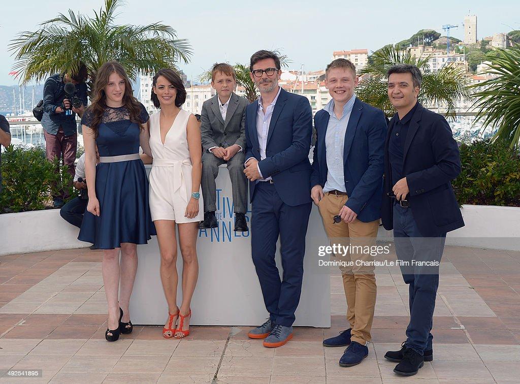 Actress Zukhra Duishvili actress Berenice Bejo actor Abdul Khalim Mamatsuiev director/producer Michel Hazanavicius actor Maxim Emelianov and producer...