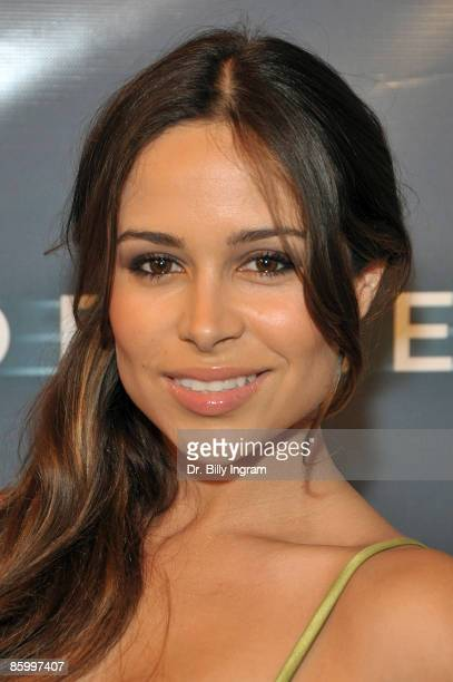 Actress Zulay Henao arrives at the Los Angeles premiere of 'Sleep Dealer' at The Montalban Theatre on April 15 2009 in Hollywood California