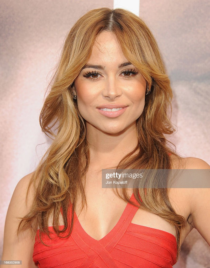 Actress Zulay Henao arrives at the Los Angeles Premiere 'Peeples' at ArcLight Hollywood on May 8, 2013 in Hollywood, California.
