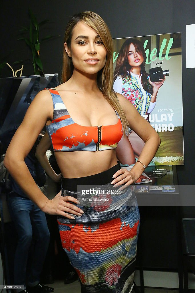 Actress <a gi-track='captionPersonalityLinkClicked' href=/galleries/search?phrase=Zulay+Henao&family=editorial&specificpeople=4529427 ng-click='$event.stopPropagation()'>Zulay Henao</a> attends her 'Bombshell By Bleu' Cover Celebration at House Of Horology on March 20, 2014 in New York City.