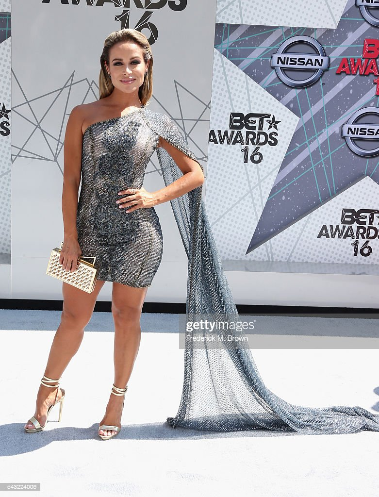 Actress <a gi-track='captionPersonalityLinkClicked' href=/galleries/search?phrase=Zulay+Henao&family=editorial&specificpeople=4529427 ng-click='$event.stopPropagation()'>Zulay Henao</a> attends the 2016 BET Awards at the Microsoft Theater on June 26, 2016 in Los Angeles, California.